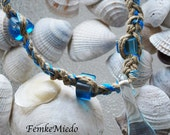 Clear Mushroom  Choker Necklace