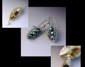 Woven Peapod Wire Jewelry Tutorial
