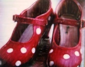 Red Shoes Polaroid - Put on your Dancing Shoes