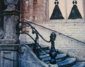 Polaroid Painting - Steps - Signed Fine Art Photograph