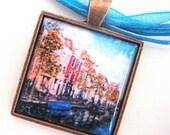Leiden Pendant - Polaroid Pendant - Photo Pendant