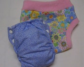 Spring Meadow Diaper and Cover Set
