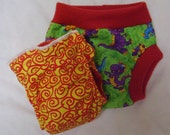 CLEARANCE Dino Diaper and Cover Set