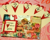 5 Things I Love About You Tag Book - Cupid Writing