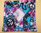 Groovy Graffiti I Spy Bag with Sewn on List