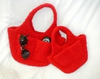 The Pocketbook Hand Knit Felted Purse Pattern