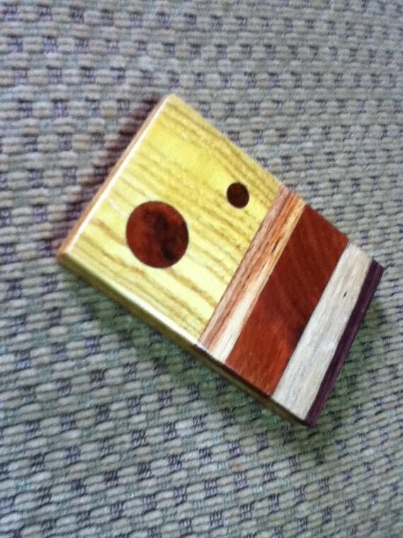 Multi-Wood Business Card Case