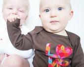Baby Shirt - Baby LOVE - size 12 month Shirt