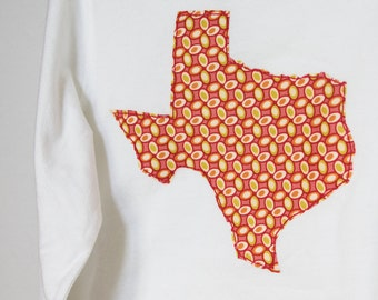 Texas Don't Mess with Texas girls Applique Shirt or Bodysuit