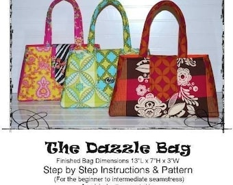 The Dazzle Bag ebook Pattern File Hand Bag