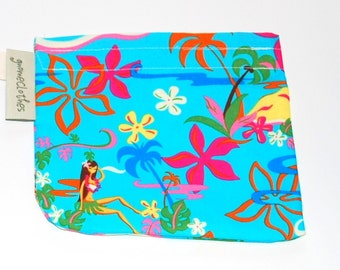 FREE OFFER Reusable All Cotton Snack Bags / Tote with handle - Hula Girl
