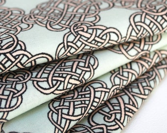 FREE OFFER Reusable ORGANIC Cloth Napkins - Set of 4- Cloud 9 Endless Knot 18 inch