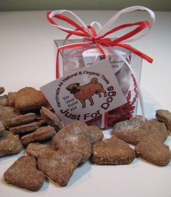 Organic Homemade Peanut Butter Dog Biscuits Bone All By Cfbd