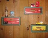 Coca-Cola Shadow Box - 32 oz Antique Case
