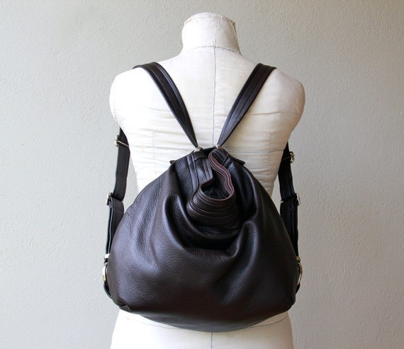 special price - ships today in Black with all the upgrades - XL HOBO PACK  'three in one' Nickel Hardware