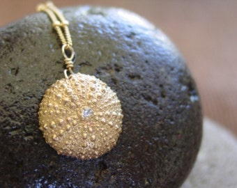 Baby Sea Urchin - Necklace