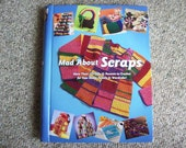 Annies Attic, Mad About Scraps, Hard Back, Book,Crochet,Patterns