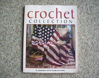Leisure Arts, Crochet Collection, Book, Patterns,Supplies