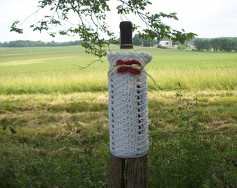 Hearts, Wine, Bottle Cover, Wedding,Birthday,Special Occasions,Gift,Holiday,Housewarming