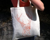Buck Mild Canvas tote bag