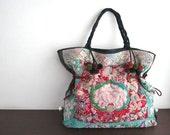 Sale DAZZLING TOTE - Hip/Tribal/Vintage/Hmong/Miao/Ethnic/Unique bag - 308 HJ