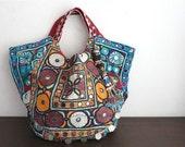 Special price - Patchwork HOBO - Hip/Tribal/Ethnic/Unique/Bohemian patchwork bag - 025 AF
