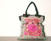 Special price - DAZZLING TOTE - Hip / Tribal / Hmong / Miao / Ethnic tote - 416 HD