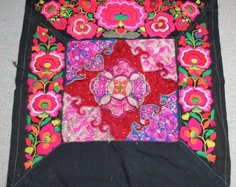 Textiles -  Hmong Baby Carrier/ Hmong / Miao fabric / Hmong embroidery panels - 610