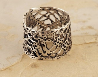Open Lace Ring, size 7.5