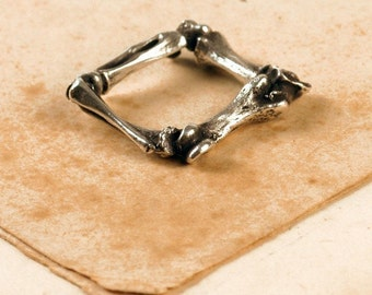 Square Bone Ring