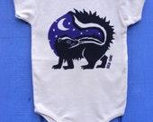 Midnight Skunk Organic Infant Bodysuit