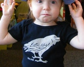 Mischievous, Black Raven Infant Tee