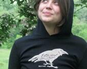 Black Raven Women's Hoodie S-XL