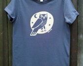 Woodland Grey Night Owl Women's Tee