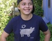 Smiling Pig Children's Tee Sizes 2-12