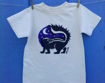 Midnight Skunk Organic Kids Tee