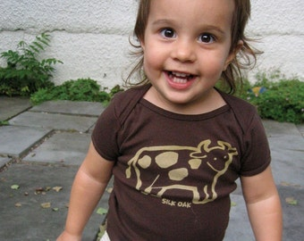 How Now, Brown Cow Infant Tee