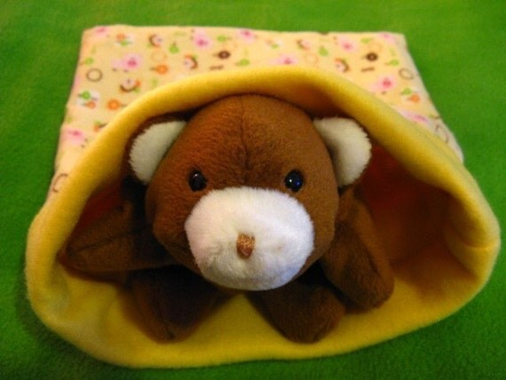 small animal cozy pocket pet sleeping bag pigs oink