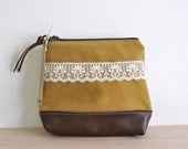 REDUCED - Fiona Zip Pouch