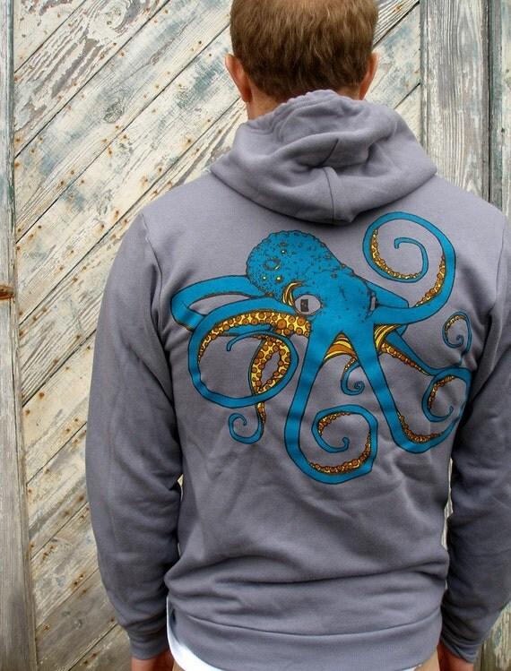 Octopus Zip Hoodie