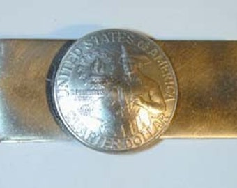 Coin Jewelry-Bicentennial Quarter  Money Clip or Key Ring-free shipping