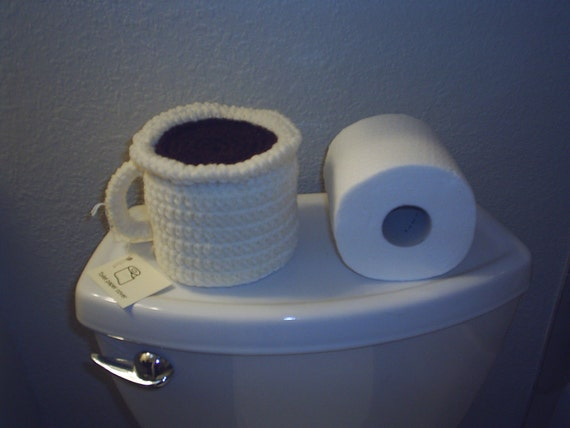 Coffee Cup Toilet Paper Cover