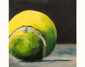 Art for Dogs-Yellow Tennis Ball 1