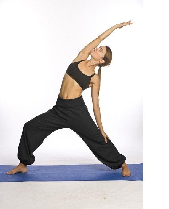 Items Similar To Organic Cotton Yoga Pants On Etsy