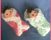 Babies in Blankets, Shower Favours, Favors, Made to Order