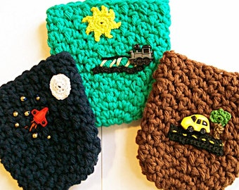 Drink Cozies, Party Favours for Boys