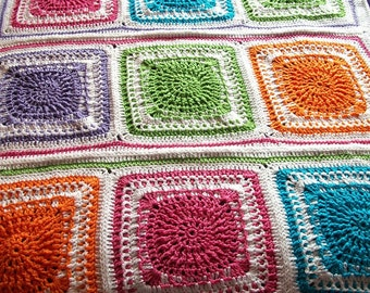 Baby Afghan, Fun Brights