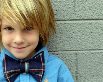 bowtie - PDF bow tie sewing pattern DIY baby toddler boy tie: 3 sizes (newborn - 12 yrs) --- easy sewing ---