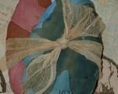 Primitive Grubby 1871 Prairie Eggs Door Hanger E  Pattern OFG