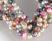 One strand freshwater pearls